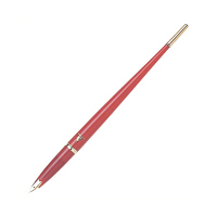 プラチナ万年筆 デスクペンDP-1000ANパック赤軸 1360109 (直送品)