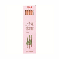 トンボ鉛筆 エコ鉛筆 木物語 朱 CV-REAV 1箱(12本入) (直送品)