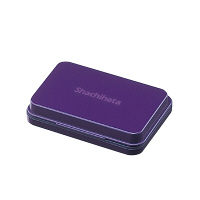 シヤチハタ スタンプ台 小形 紫 HGN-1-V (直送品)