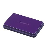 シヤチハタ スタンプ台 大形 紫 HGN-3-V (直送品)