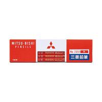 三菱鉛筆(uni) 色鉛筆 朱通し K2351 1箱(12本入) (直送品)