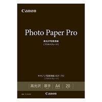 キヤノン 写真用紙・光沢 プロ[プラチナグレード] A4 PT-201A420 1箱(20枚入)