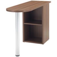 DESIGNA(デザイナ) デザイナライン サイドテーブル  ウォルナット  幅400×奥行1200×高さ720mm  1台