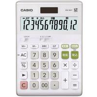 カシオ計算機 CASIO ダブル税電卓 (大型) 12桁 DW-200T-N