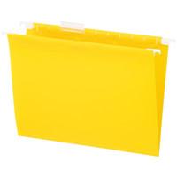 リヒトラブ リクエスト ハンギングフォルダー イエロー G1641-5 1箱(50枚:5枚入×10袋)