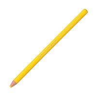 三菱鉛筆(uni) 色鉛筆 油性ダーマトグラフ 黄 K7600.2 1箱(12本入) (直送品)