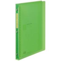 クリヤーブックカー-タグ替紙式A4 L緑