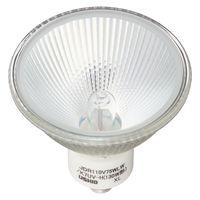 ハロゲン電球 110V用(ミラー付) 130W形広角(70径)(W) JDR110V75WLW/K7UV-H 1箱(10個入) ウシオライティング