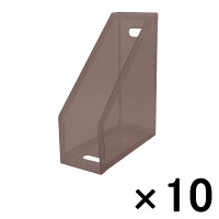 セキセイ クライマックスボックス(A4フリー) スモーク SSS-805-70 1箱(10個入)