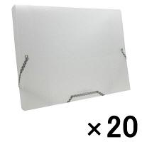 ビュートン ドキュメントボックス A4 クリア NDB-A4-C 1箱(20冊入)