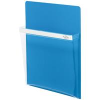 セキセイ マグネットポケット ポケマグ A4サイズ ブルー PM-2745-10 1セット(5個:1個×5)