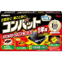 コンバット 1年用 1箱(4個入) 大日本除虫菊