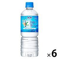 アサヒ飲料 おいしい水 600ml 1セット(6本)