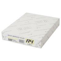 大王製紙 ダイオーマルチカラープリンタ用紙 76414 A4 1箱(2500枚入) レモン色