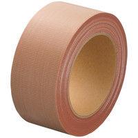 「現場のチカラ」 Monf 布テープ 強力粘着タイプ 0.22mm厚 50mm×25m巻 黄土 1セット(120巻:30巻入×4箱) 古藤工業