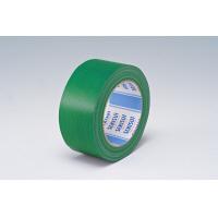 【ガムテープ】カラー布テープ No.600V 0.22mm厚 50mm×25m 緑 積水化学工業 1セット(5巻入)