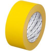 【ガムテープ】「現場のチカラ」 カラークラフトテープ 0.14mm厚 50mm×50m 黄 アスクル 1箱(50巻入)