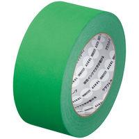 【ガムテープ】「現場のチカラ」 カラークラフトテープ 0.14mm厚 50mm×50m 緑 アスクル 1セット(5巻入)