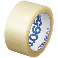 「現場のチカラ」OPPテープ 0.065mm厚 50m巻 1箱(50巻:5巻入×10パック) アスクル