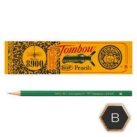 トンボ鉛筆 鉛筆 B 8900-B 1セット(3ダース:12本入×3)