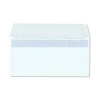 ハート 透けない封筒 カラー テープ付 洋長3 ブルー 500枚(100枚×5袋)
