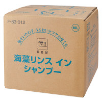 海藻リンスインシャンプー10L 牛乳石鹸共進社 注ぎ口コック付