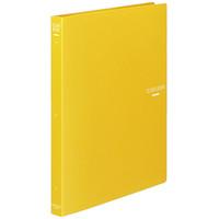クリヤーブック30穴替紙式18P A4黄
