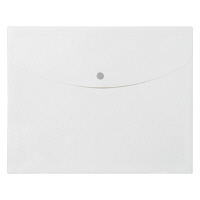 プラス シンプルワーク ポケット付エンベロープマチ付 A4ヨコ ホワイト 88573 1セット(50枚:10枚入×5)