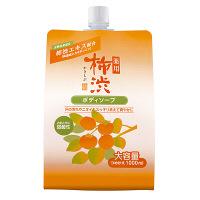 薬用柿渋ボディソープ 詰め替え用 1000mL 熊野油脂