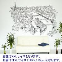 【アウトレット】ACTUS(アクタス) CHP PARIS RIVER SEINE XL イラストサイズ: 145×110cm 38500473