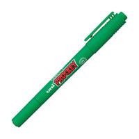 プロッキー 水性ペン 細・極細ツイン 緑 10本 三菱鉛筆 uni