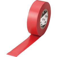 トラスコ中山 TRUSCO 脱鉛タイプ ビニールテープ レッド 19mm×10m巻 TM1910R1P 952-1180