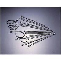 TRUSCO(トラスコ中山) 使い切り 屋外用 ケーブルタイ 黒 150mm TRCV150W 1袋 215-3785