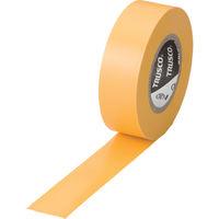 トラスコ中山 TRUSCO 脱鉛タイプ ビニールテープ 黄 幅19mm×長さ10m 1巻