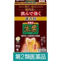 【第2類医薬品】生葉漢方錠 1箱(84錠) 小林製薬