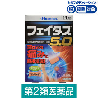 【第2類医薬品】フェイタス5.0 14枚 久光製薬★控除★