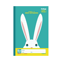 キョクトウ・アソシエイツ カレッジ ほうがんノート(ウサギ) B5 5mm方眼 LT01SB 1冊