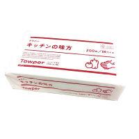キッチンペーパー タウパーキッチンの味方M 1カット22×23cm 1箱(30パック入) トライフ