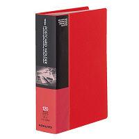 コクヨ ポストカードホルダー 固定式 A6-S 60ポケット 赤 ハセ-30NR 1冊(直送品)