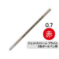三菱鉛筆(uni) ジェットストリームプライム替芯(多色・多機能ボールペン用) 0.7mm 赤 SXR-200-07 1本