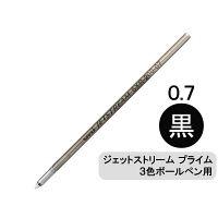 三菱鉛筆(uni) ジェットストリームプライム替芯(多色・多機能ボールペン用) 0.7mm 黒 SXR-200-07 1本