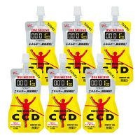 パワープロダクション ワンセコンドCCD クリアレモン 1セット(6個入) 江崎グリコ  栄養補助ゼリー