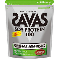 ザバス ソイプロテイン ココア50食分