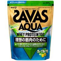 ザバス(SAVAS) アクアホエイプルテイン100 グレープフルーツ風味 40食分 840g 明治 プロテイン
