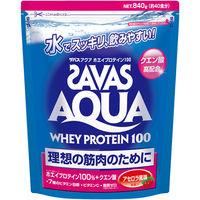 ザバス(SAVAS) アクアホエイプロテイン100 アセロラ風味 40食分 840g 明治 プロテイン