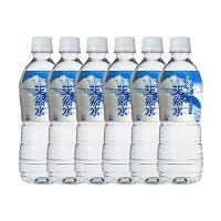 シリウス 北アルプス安曇野の清らかな天然水 500ml 1セット(6本) 【軟水】