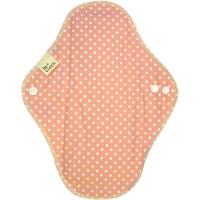 【在庫一掃セール】ナプキン 昼用 23.5cm Be*cloth 布ナプキン昼用 水玉ピンク1枚入