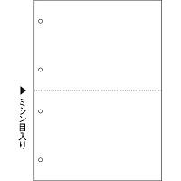 ヒサゴ マルチプリンタ帳票(FSC) FSC2003Z A4 白紙2面4穴 1箱(1200枚入)