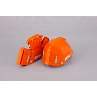 トーヨーセフティー 防災用折りたたみヘルメット ブルーム2 No.101 オレンジ 1個