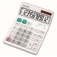 シャープ セミデスクタイプ 電卓 EL-S452X